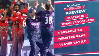 T20 World Cup 2021 - Match 10, Oman vs Scotland, Predicted Playing XIs & Stats Preview