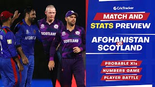 T20 World Cup 2021 - Match 17, Afghanistan vs Scotland, Predicted Playing XIs & Stats Preview